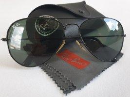 Ray Ban Okulary pilotki czarny Szkło