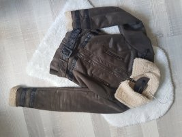 Colloseum Flight Jacket brown-dark brown