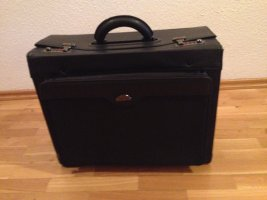 Briefcase black-grey