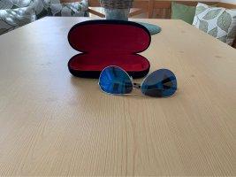 MIA SOLANO Bril zilver-donkerblauw