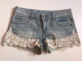 Pimkie Shorts Jeans Spitze XS/34