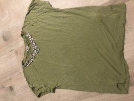 Pimkie Basic Shirt grass green-olive green