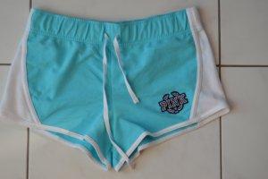 Pink by Victorias Secret kurze Hose, Gr. M, türkis/blau, 1x getragen