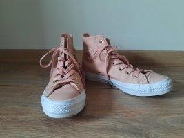 Pink Converse aus Leder 37,5