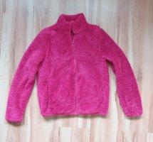 Uniqlo Fleece jack roze