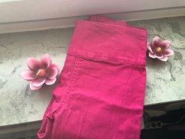 Pinke High-Waist-Jeans von Pieces zu verkaufen:-)-Preis VB