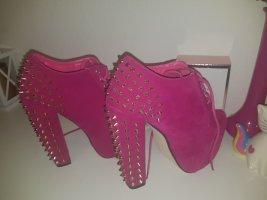 Pinke - Schuhe mit Blockabsatz