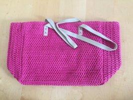 Pinke Sommertasche, sehr voluminös