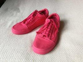 Pinke Vans