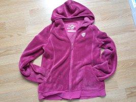 Princess of Powder Fleece Jackets magenta-pink