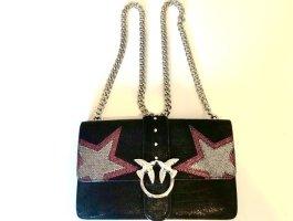 PINKO Love Stars 2 Tracolla Neu schwarz Crossbody Handtasche