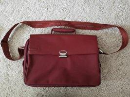 Piquadro Briefcase bordeaux leather