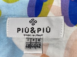 Piú & Piú Wraparound multicolored cotton