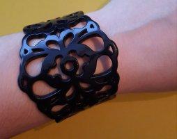 Plastik Armband schwarz