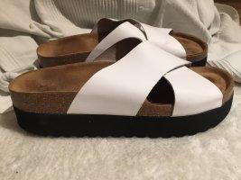 Shoe the Bear Sandalias con plataforma negro-blanco