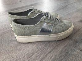 Superga Sneakers met hak veelkleurig