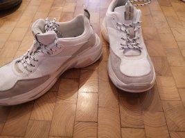 Plateau Sneaker Pepe Jeans Creme