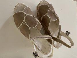 Gerry Weber Platform Sandals camel-cream