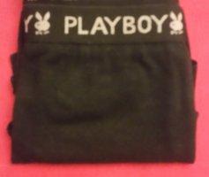Playboy Hipster/Panty/Hüftpanty Schwarz Gr. M