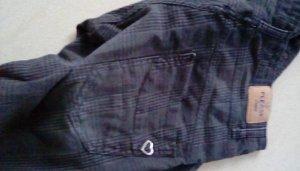 PLEASE Denim Jeans boyfriend taupe coton