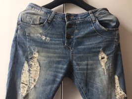 Imperial Hoge taille jeans blauw