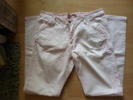 Please Pantalone cinque tasche rosa pallido