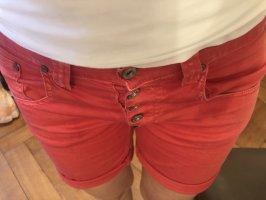 Please Jeans kurz rot Gr.S
