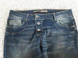 Please Jeans P78A, dunkelblaue Waschung, Gr. L