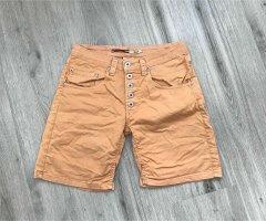 Please Shorts apricot cotton
