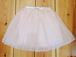 Stefanel Pleated Skirt rose-gold-coloured