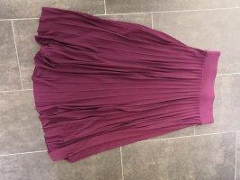Anna Field Plisowana spódnica bordo-czerwona jeżyna