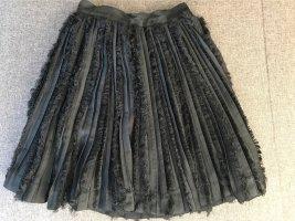 HM Plisowana spódnica czarny