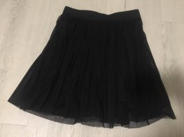 C&A Clockhouse Pleated Skirt black polyester