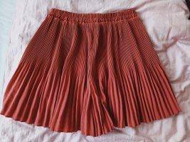 Vero Moda Pantaloncino a vita alta rosso scuro-rosso lampone