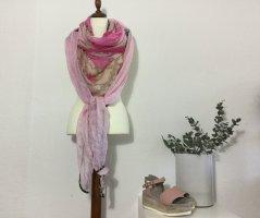 Plomo o plata Panno di seta rosa chiaro-bianco sporco Seta