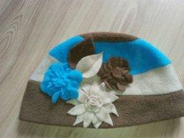 handmade Chapeau en tissu multicolore tissu mixte