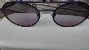 Polaroid Oval Sunglasses dark violet