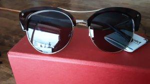 Polaroid, Sonnenbrille 51/18 braun, goldfarben