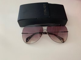 Police Aviator Glasses light brown