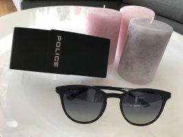 Police Oval Sunglasses black