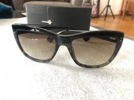 Police Okulary motylki czarny-khaki