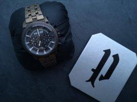 Police Horloge met metalen riempje veelkleurig