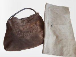 Pollini Leder Hobobag Tasche + Dustbag