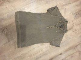 17&co Polo shirt grijs-bruin
