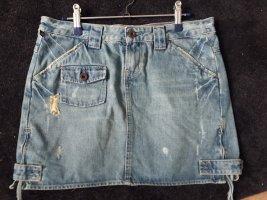 Polo Jeans Co. Ralph Lauren Gonna di jeans azzurro Cotone