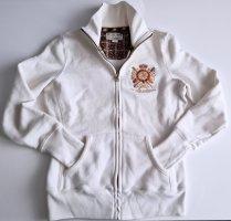 Polo Jeans Company Ralph Lauren Sweatjacke Strickjacke Cardigan ecru-weiß XS-S