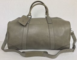 Polo Ralph Lauren, Duffle Bag, Grau, Leather, neu