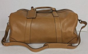 Polo Ralph Lauren, Duffle Bag, Leather, Cognac, neu