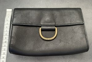 Polo Ralph Lauren Makeup Bag black leather