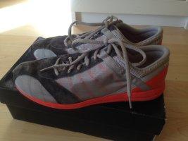 Ralph Lauren Velcro Sneakers dark orange-grey synthetic fibre